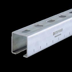 Rail d'installation MPC 38/40/2,0 | 2000 mm | électrozingué