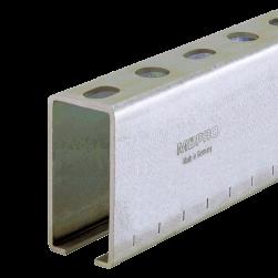 Rail d'installation MPC 40/80/3,0 | 6000 mm | galvanisée à chaud