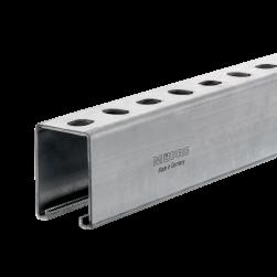 Rail d'installation MPR 41/62/2,5   6000   galvanisée à chaud