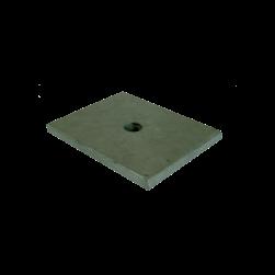 Plaquette d'appui MPT Q50-2,5, Q80-2,0, Q100-2,5, Q100-3,5, Q150-2,5