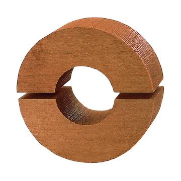 Coquille en bois